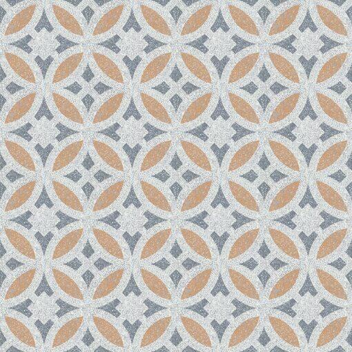Gạch bông CTS TE-186.1(4-33-34) - 16 viên - Encaustic cement tile CTS TE-186.1(4-33-34)-16 tiles