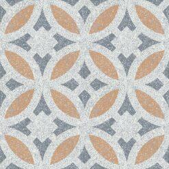 Gạch bông CTS TE-186.1(4-33-34) - 4 viên - Encaustic cement tile CTS TE-186.1(4-33-34)-4 tiles
