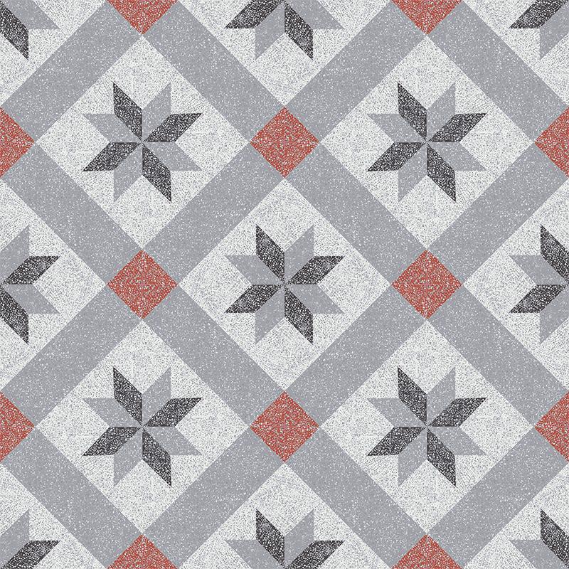 Gạch bông CTS TE-12.2(4-5-9-13)-16 viên - Encaustic cement tile CTS TE-12.2(4-5-9-13)-16 tiles