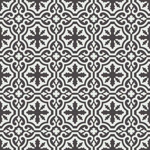 Gạch bông CTS CTS 223.1(4-13) - 16 viên- Encaustic cement tile CTS 223.1(4-13) - 16 tiles