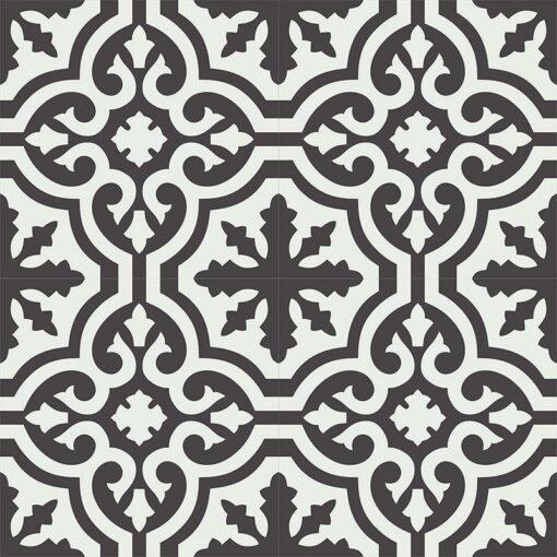 Gạch bông CTS CTS 223.1(4-13) - 4 viên- Encaustic cement tile CTS 223.1(4-13) - 4 tiles
