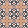 Gạch bông CTS CTS 224.1(4-13-34-62) - 16 viên - Encaustic cement tile CTS 224.1(4-13-34-62) - 16 tiles