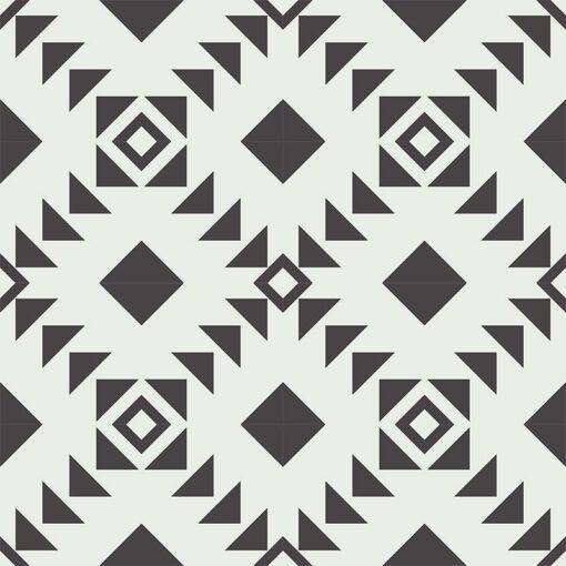 Gạch bông CTS CTS 226.1(4-13) - 16 viên - Encaustic cement tile CTS 226.1(4-13) - 16 tiles