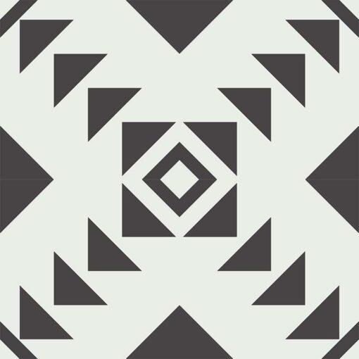 Gạch bông CTS CTS 226.1(4-13) - 4 viên - Encaustic cement tile CTS 226.1(4-13) - 4 tiles
