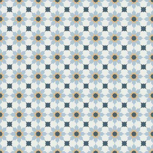 Gạch bông CTS 3.21(1-4-6-20) - 16 viên - Encaustic cement tile CTS 3.21(1-4-6-20) - 16 tiles