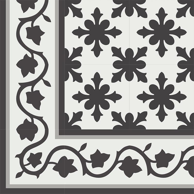 Gạch bông CTS BC133.1(4-9-13) - Encaustic cement tile CTS BC133.1(4-9-13)