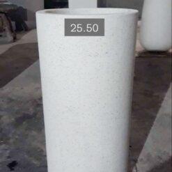 Chậu đá mài hình trụ tròn 25×50