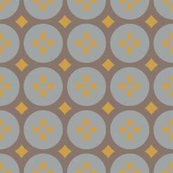 Gạch bông CTS 0.3(6-9-14) - 4 viên - Encaustic cement tile CTS 0.3(6-9-14) - 4 tiles