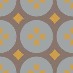 Gạch bông CTS 0.3(6-9-14) - Encaustic cement tile CTS 0.3(6-9-14)