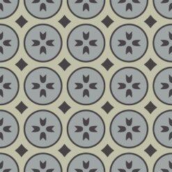 Gạch bông CTS 0.4(9-12-13) - 4 viên - Encaustic cement tile CTS 0.4(9-12-13) - 4 tiles