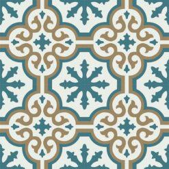 Gạch bông CTS 1.45(4-91-95) - 4 viên - Encaustic cement tile CTS 1.45(4-91-95) - 4 tiles