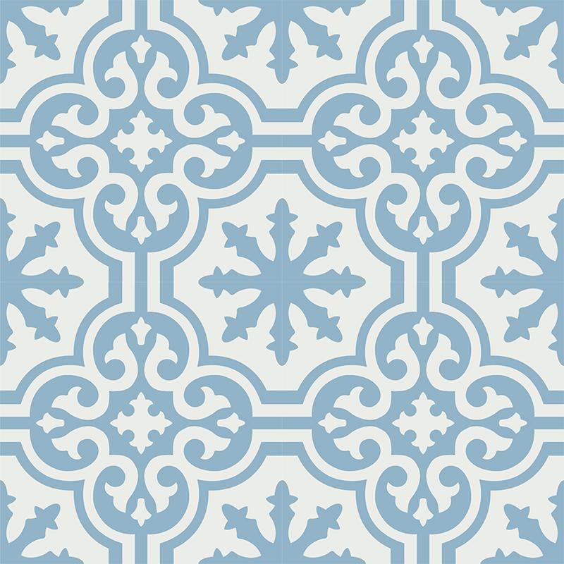 Gạch bông CTS 1.51(4-29) - 4 viên - Encaustic cement tile CTS 1.51(4-29) - 4 tiles