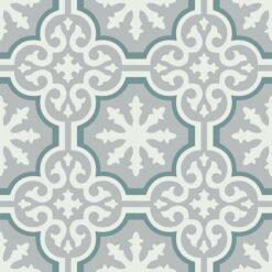 Gạch bông CTS 1.53(4-49-50) - 4 viên - Encaustic cement tile CTS 1.53(4-49-50) - 4 tiles