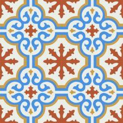 Gạch bông CTS 1.55(4-5-6-8) - 4 viên - Encaustic cement tile CTS 1.55(4-5-6-8) - 4 tiles