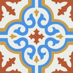 Gạch bông CTS 1.55(4-5-6-8) - Encaustic cement tile CTS 1.55(4-5-6-8)