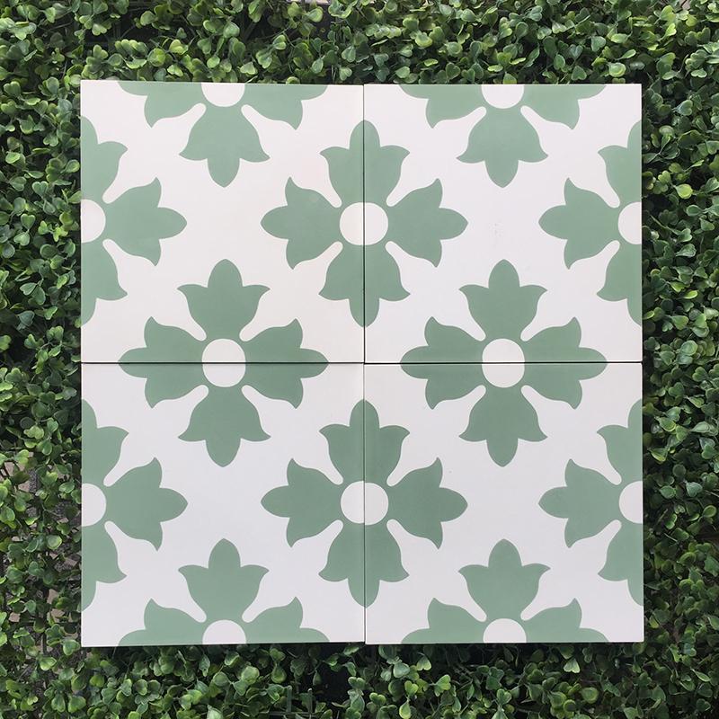 Gạch bông CTS 114.3(4-7) - Encaustic cement tile CTS 114.3(4-7)