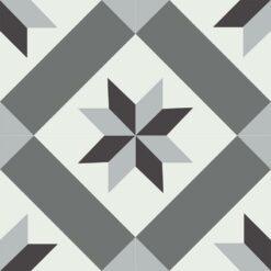 Gạch bông CTS 12.10(4-13-32-50) - 4 viên - Encaustic cement tile CTS 12.10(4-13-32-50) - 4 tiles