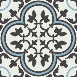 Gạch bông CTS 2.28(2-4-13) - 4 viên - Encaustic cement tile CTS 2.28(2-4-13) - 4 tiles