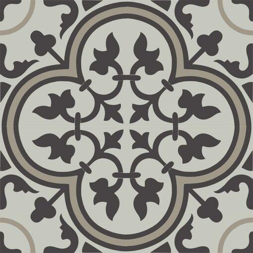 Gạch bông CTS 2.29(13-27-83) - 4 viên - Encaustic cement tile CTS 2.29(13-27-83) - 4 tiles