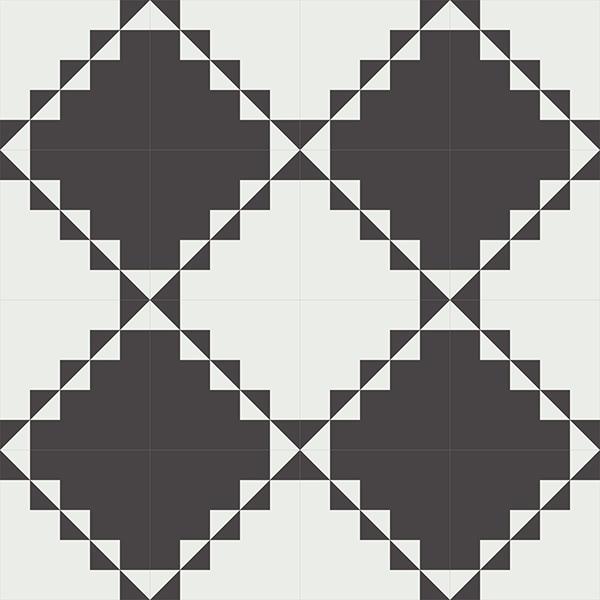 Gạch bông CTS 260.1(4-13) - 16 viên - Encaustic cement tile CTS 260.1(4-13) - 16 tiles
