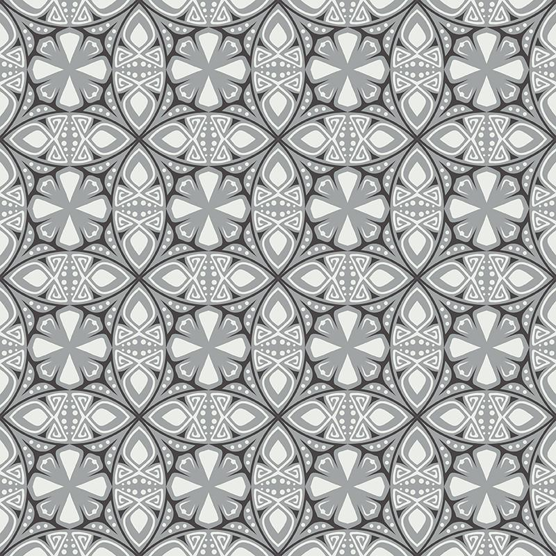 Gạch bông CTS 264.1(4-9-13) - 16 tiles - Encaustic cement tile CTS 264.1(4-9-13) - 16 tiles