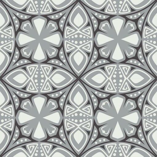 Gạch bông CTS 264.1(4-9-13) - 4 tiles - Encaustic cement tile CTS 264.1(4-9-13) - 4 tiles