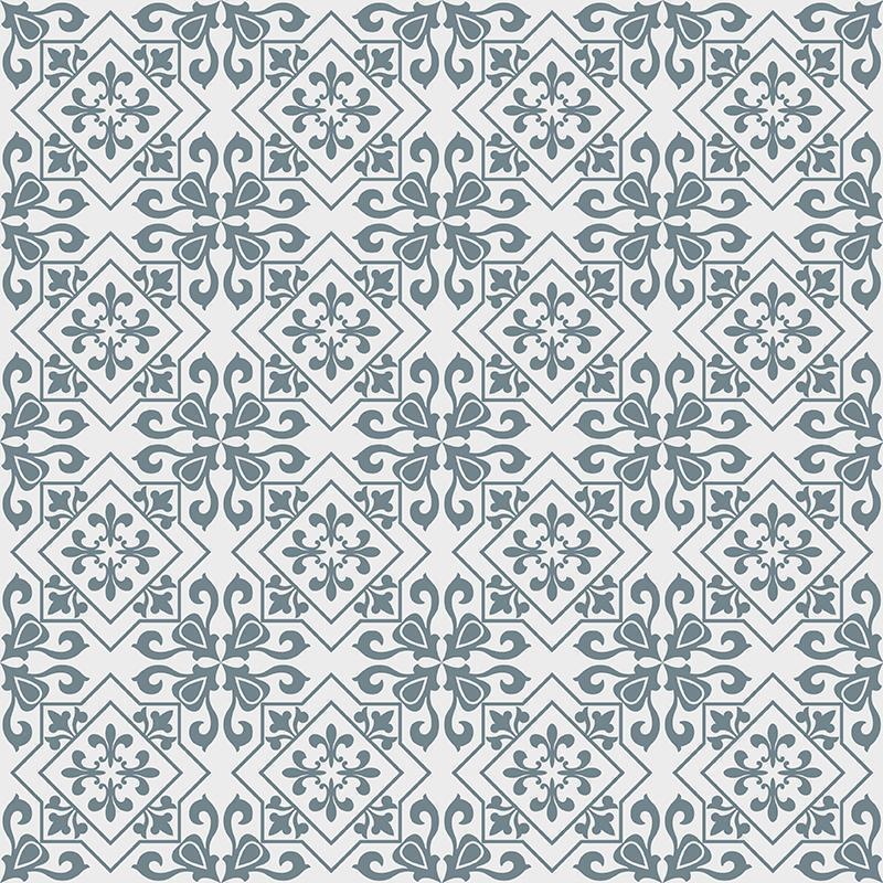 Gạch bông CTS 265.1(4-33) - 16 viên - Encaustic cement tile CTS 265.1(4-33) - 16 tiles