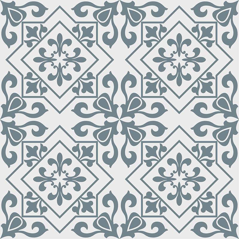 Gạch bông CTS 265.1(4-33) - 4 viên - Encaustic cement tile CTS 265.1(4-33) - 4 tiles