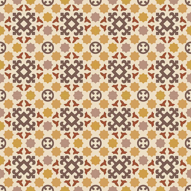 Gạch bông CTS 33.2(6-18-34-59-60-62) - 16 viên - Encaustic cement tile CTS 33.2(6-18-34-59-60-62) - 16 tiles