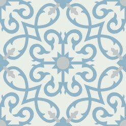 Gạch bông CTS 127.4(4-29-54) - 4 viên - Encaustic cement tile CTS 127.4(4-29-54) - 4 tiles