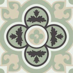 Gạch bông CTS 129.3(4-12-13-48) - 4 viên - Encaustic cement tile CTS 129.3(4-12-13-48) - 4 tiles