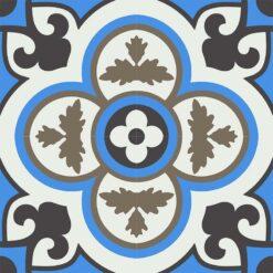 Gạch bông CTS 129.8(4-8-13-28) - 4 viên - Encaustic cement tile CTS 129.8(4-8-13-28) - 4 tiles