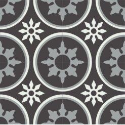 Gạch bông CTS 176.3(4-9-13) - 4 viên - Encaustic cement tile CTS 176.3(4-9-13) - 4 tiles