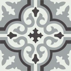 Gạch bông CTS 189.4(4-9-13) - 4 viên - Encaustic cement tile CTS 189.4(4-9-13) - 4 tiles