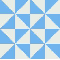 Gạch bông CTS 199.2(4-16) - 4 viên - Encaustic cement tile CTS 199.2(4-16) - 4 tiles