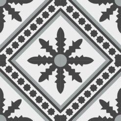 Gạch bông CTS 206.3(4-9-13) - 4 viên - Encaustic cement tile CTS 206.3(4-9-13) - 4 tiles