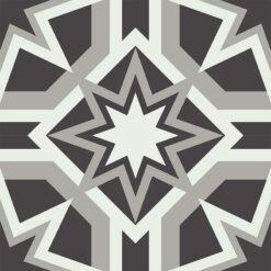 Gạch bông CTS 238.1(4-9-13) - 4 viên - Encaustic cement tile CTS 238.1(4-9-13) - 4 tiles