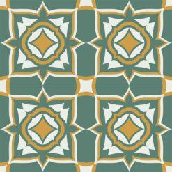 Gạch bông CTS 239.1(4-6-24) - 4 viên - Encaustic cement tile CTS 239.1(4-6-24) - 4 tiles