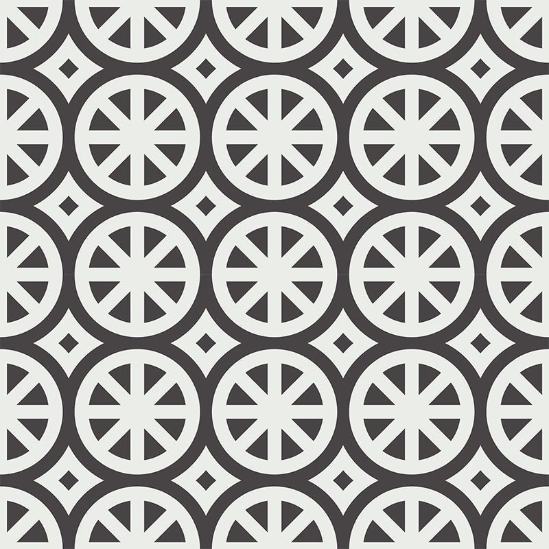 Gạch bông CTS 254.2(4-13) - 4 viên - Encaustic cement tile CTS 254.2(4-13) - 4 tiles