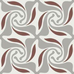 Gạch bông CTS 259.1(4-9-60) - 4 viên - Encaustic cement tile CTS 259.1(4-9-60) - 4 tiles