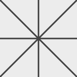 Gạch bông CTS 261.1(4-13) - 4 viên - Encaustic cement tile CTS 261.1(4-13) - 4 tiles