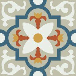 Gạch bông CTS 76.4(1-4-5-6-12) - Encaustic cement tile CTS 76.4(1-4-5-6-12)
