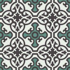 Gạch bông CTS 84.4(4-13-40) - 4 viên - Encaustic cement tile CTS 84.4(4-13-40) - 4 tiles
