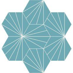 Gạch bông CTS 402.15(4-57) - 7 viên - Encaustic cement tile CTS 402.15(4-57) - tiles