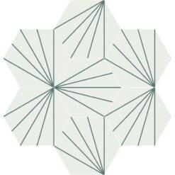 Gạch bông CTS 402.16(4-42) - 7 viên - Encaustic cement tile CTS 402.16(4-42) - 7 tiles