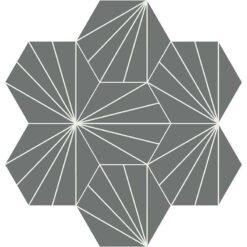 Gạch bông CTS H402.17(4-32) - 7 viên - Encaustic cement tile CTS H402.17(4-32) - 7 tiles