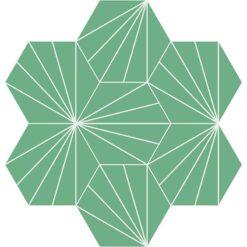 Gạch bông CTS 402.18(4-A3) - 7 viên - Encaustic cement tile CTS 402.18(4-A3) - 7tiles