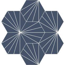 Gạch bông CTS H402.19(4-100) - 7 viên - Encaustic cement tile CTS H402.19(4-100) - 7 tiles
