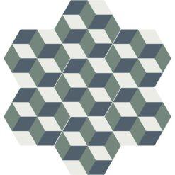 Gạch bông CTS H403.8(3-19-24) - 7 viên - Encaustic cement tile CTS H403.8(3-19-24) - 7tiles