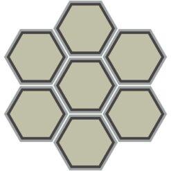 Gạch bông CTS H404.1(9-12-13) - 7 vên - Encaustic cement tile CTS H404.1(9-12-13) - 7 tiles
